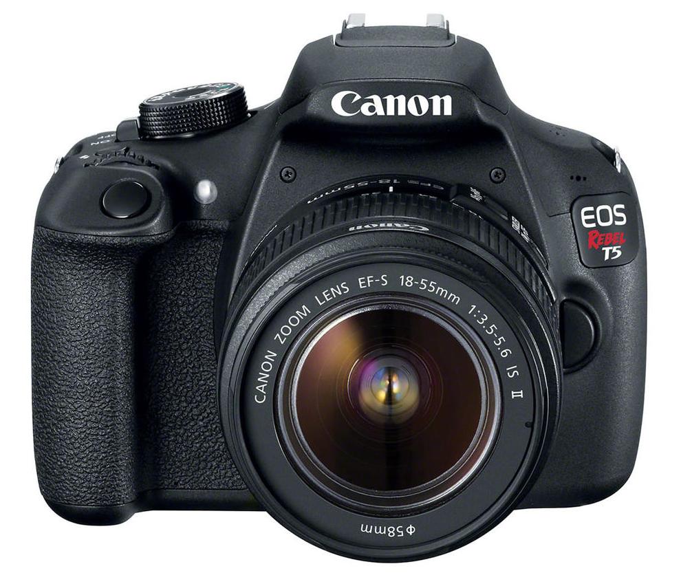 c mara canon eos t5 lente 18 55 profesional negra alkosto