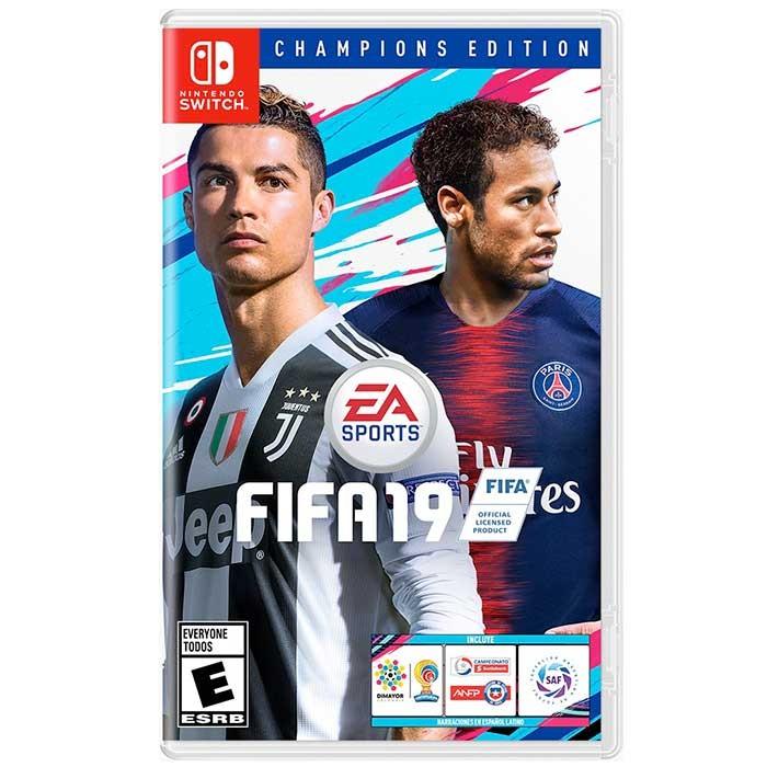Videojuego Switch Fifa 19 Edicion Champions Alkosto Tienda Online
