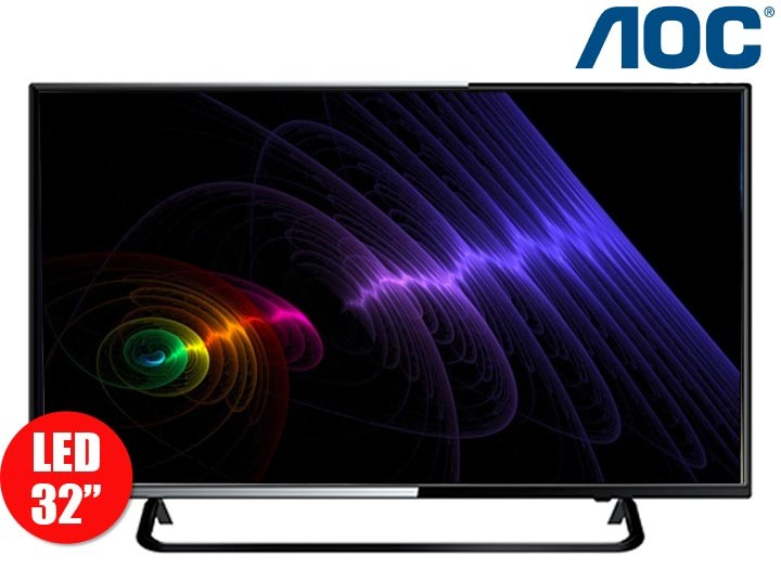 combo tv 32 80cm led hd aoc celular e41 alkosto tienda online. Black Bedroom Furniture Sets. Home Design Ideas