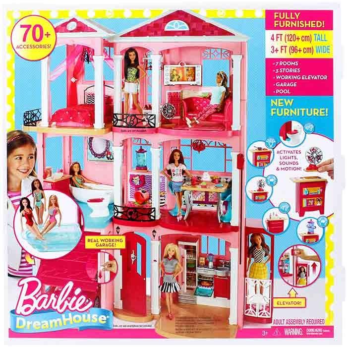 Barbie casa de los sue os alkosto tienda online - La casa de barbie de juguete ...