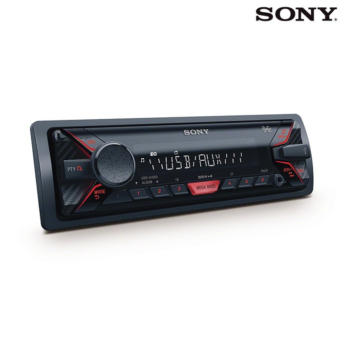 radio auto usb sony dsx a100 alkosto tienda online. Black Bedroom Furniture Sets. Home Design Ideas