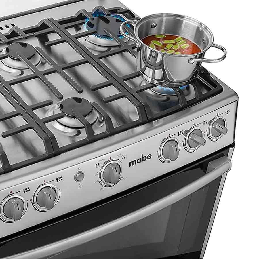 Estufa mabe 30 horno grill emc30kxx 4 alkosto tienda online for Estufas de cocina de gas