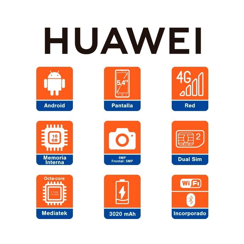 3e1d7aa519c9c Celular Libre HUAWEI Y5 (2018) Negro DS 4G Alkosto Tienda Online