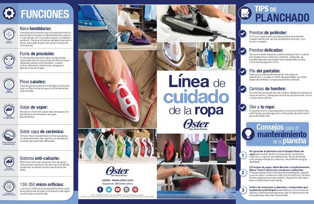 Plancha de Ropa OSTER Vapor 4801T Alkosto Tienda Online a626e433d8e