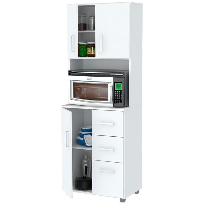 Gabinete de cocina inval 043 blanco alkosto tienda online for Gabinetes de cocina blancos
