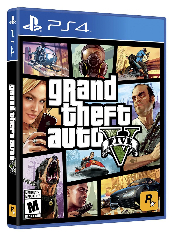Videojuego Ps4 Grand Theft Auto V Alkosto Tienda Online