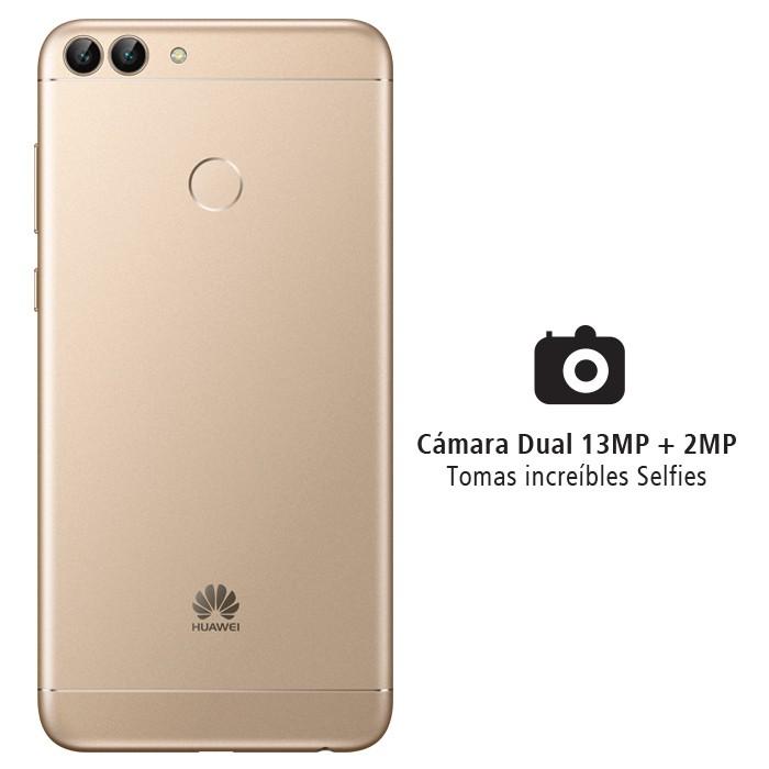 baa374ef5c609 Celular Libre HUAWEI P Smart DS Dorado 4G Alkosto Tienda Online