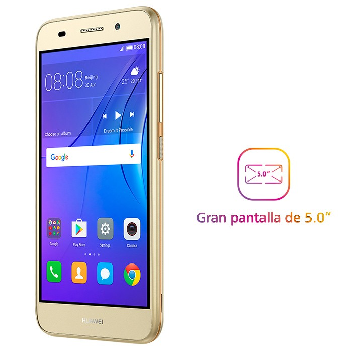 c25d39161be9e Celular Libre HUAWEI Y5 Lite (2018) Dorado DS 4G Alkosto Tienda Online