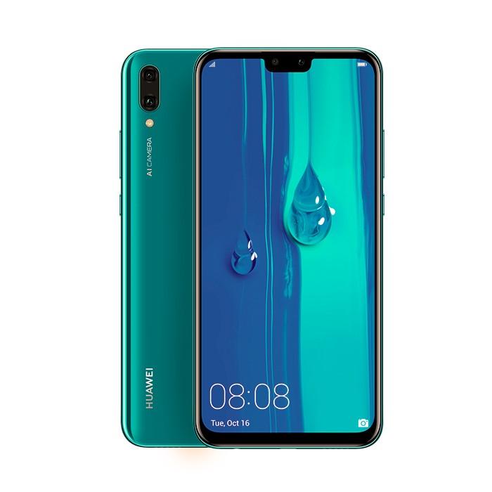 Celular HUAWEI Y9 2019 DS 4G Azul Alkosto Tienda Online
