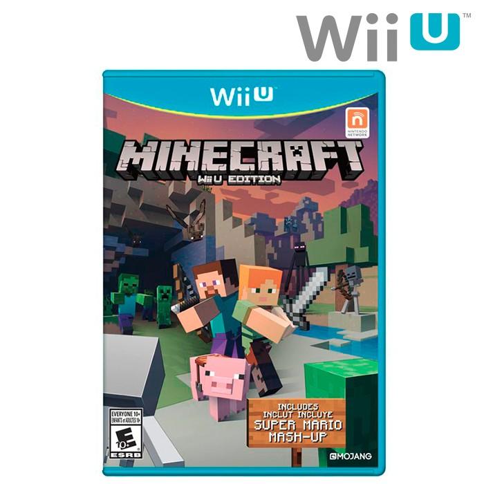 Videojuego Wii U Minecraft Mash-up pack Super Mario Bros Alkosto ...
