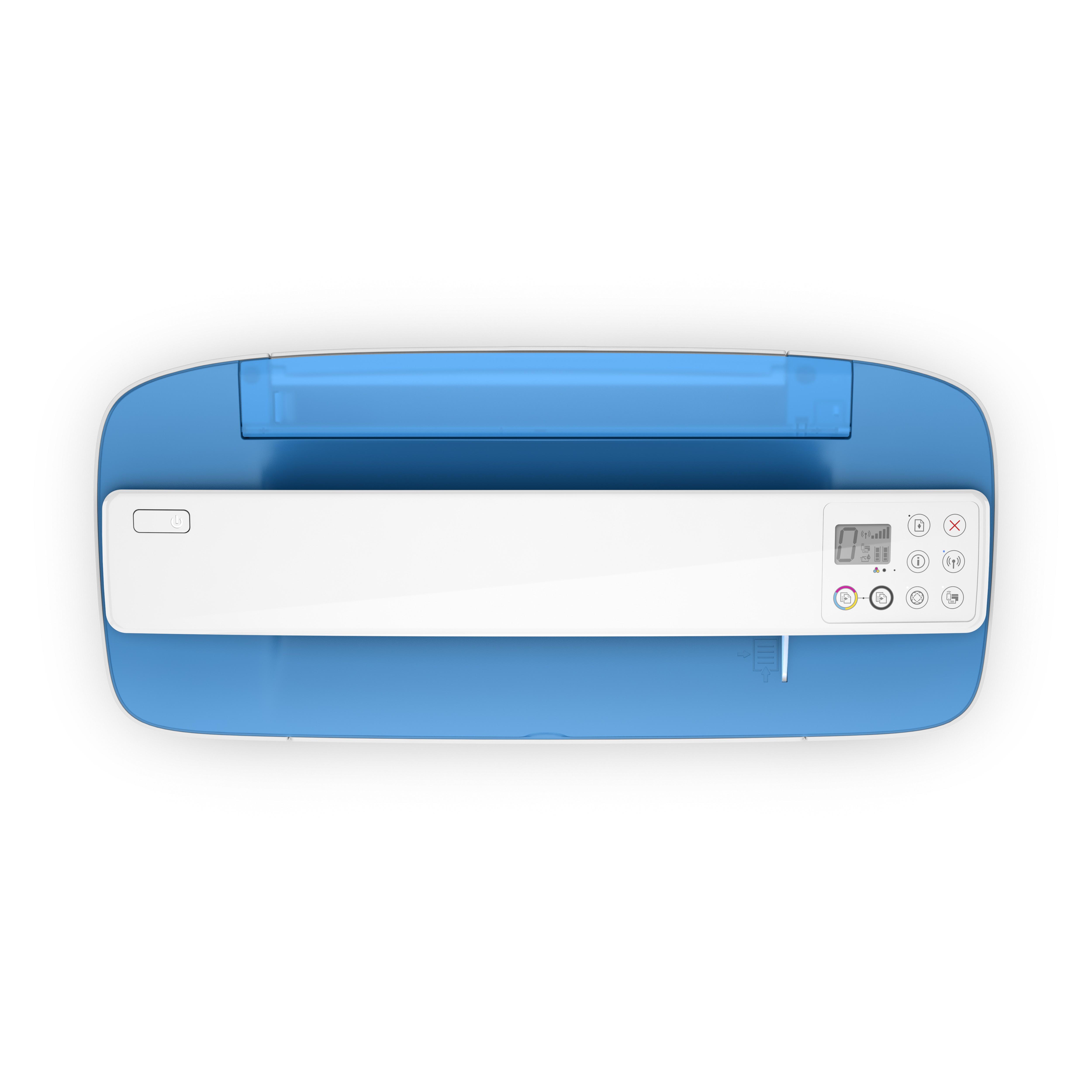 Impresora Multifuncional Hp Deskjet Ink 3775 Azul Alkosto