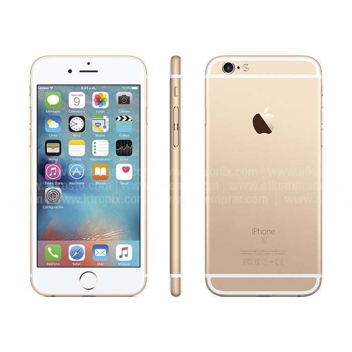 Iphone  Plus Rosa Dorado