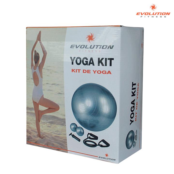 Kombo yoga (Balón+Inflador+Cuerdas+Pesas) EVOLUTION Alkosto Tienda ... 871d43452cea