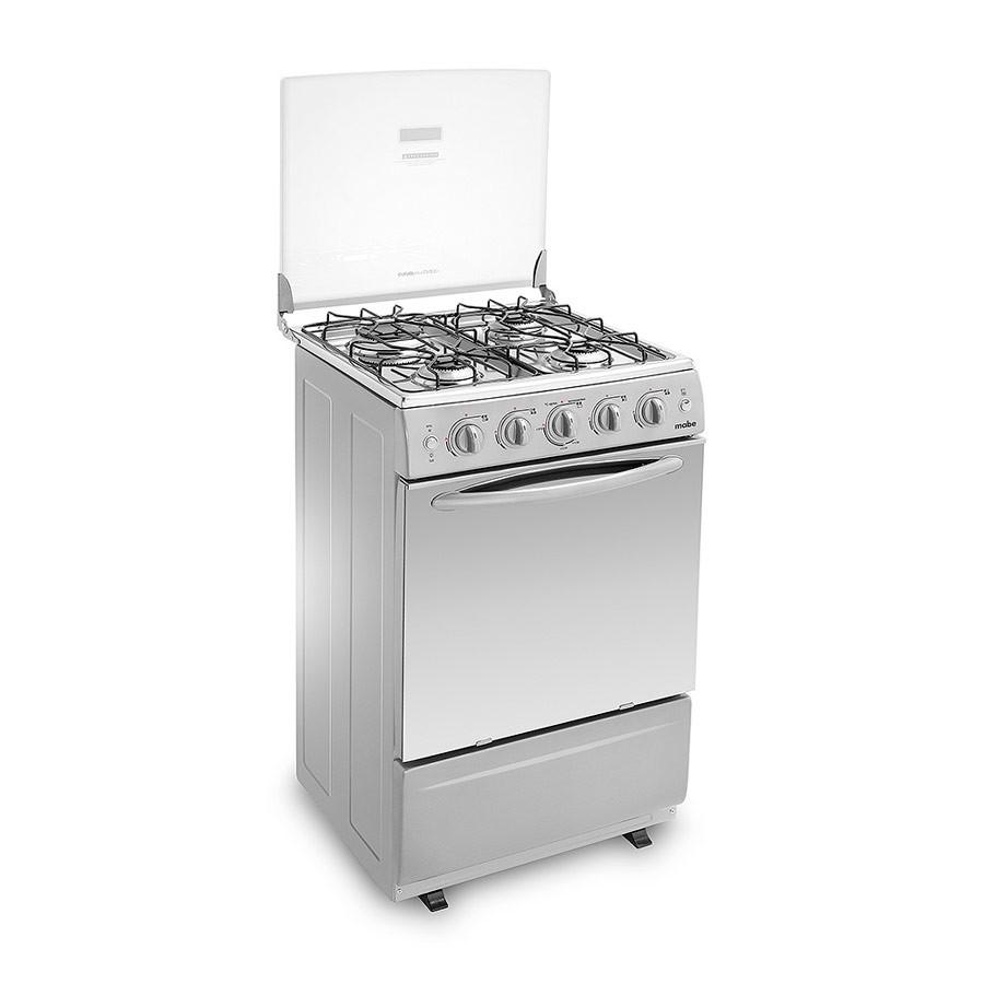 Estufa mabe 20 horno grill emc20ggxn 4 alkosto tienda online for Estufa pellets con horno