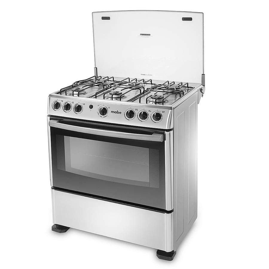 Estufa mabe 30 horno grill emc30ixx 4 alkosto tienda online for Estufas industriales a gas bogota