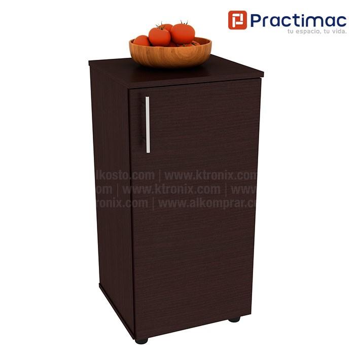 Mueble auxiliar de cocina practimac lavanda wengue for Mueble auxiliar cocina