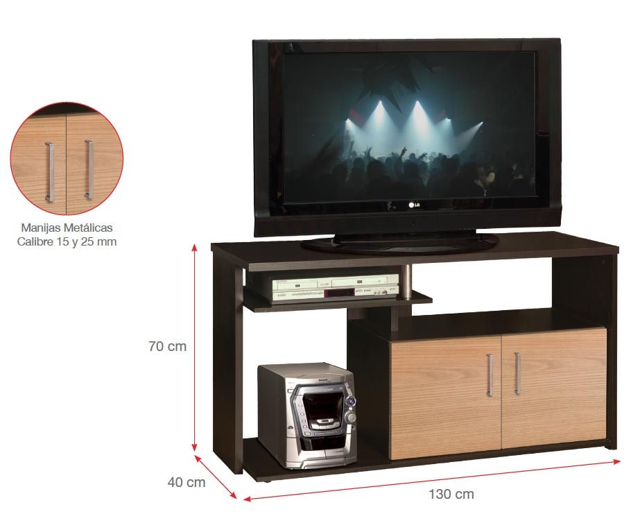 mesa tv moduart bilbao 2 puertas alkosto tienda online. Black Bedroom Furniture Sets. Home Design Ideas