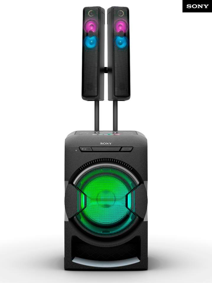 Equipo Mini SONY MHC-GT7D Alkosto Tienda Online
