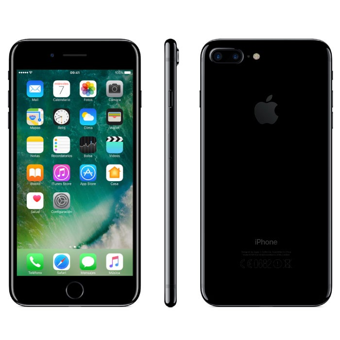 Iphone  Plus Gb Negro Brillante