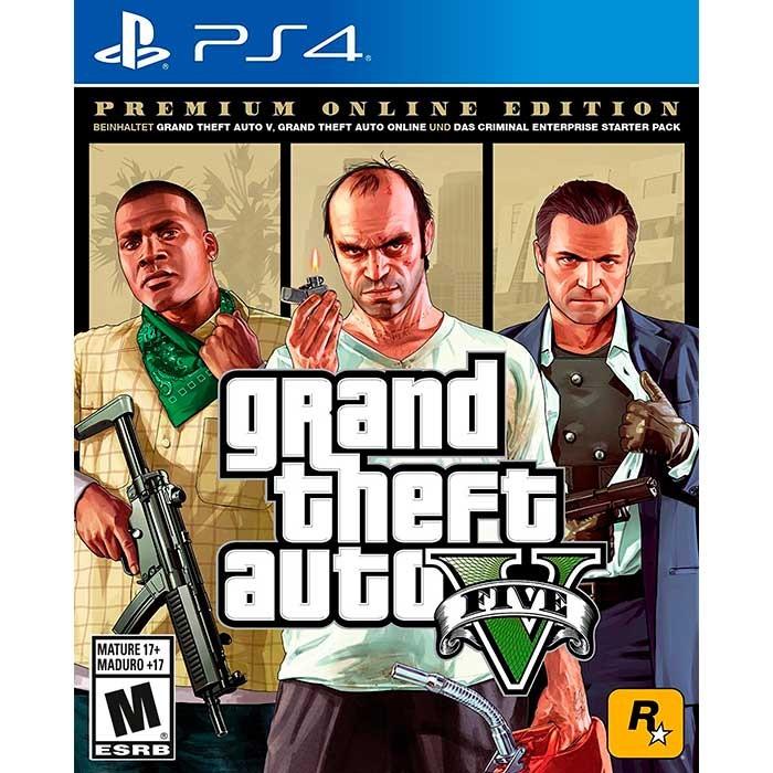 Juego Playstation 4 Grand Theft Auto V Pe Español