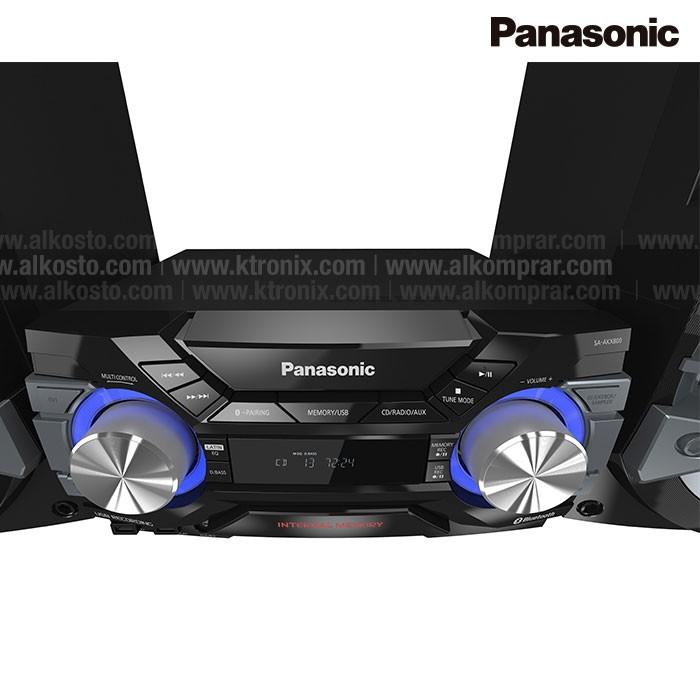 Equipo Mini Componente Panasonic Akx800 Pnk Alkosto Tienda