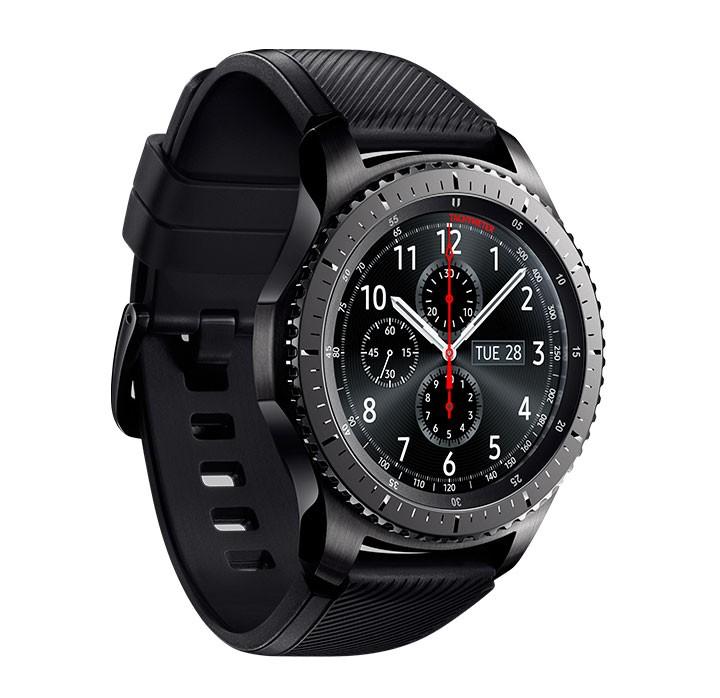 Reloj SAMSUNG Gear S3 Frontier Negro Alkosto Tienda Online