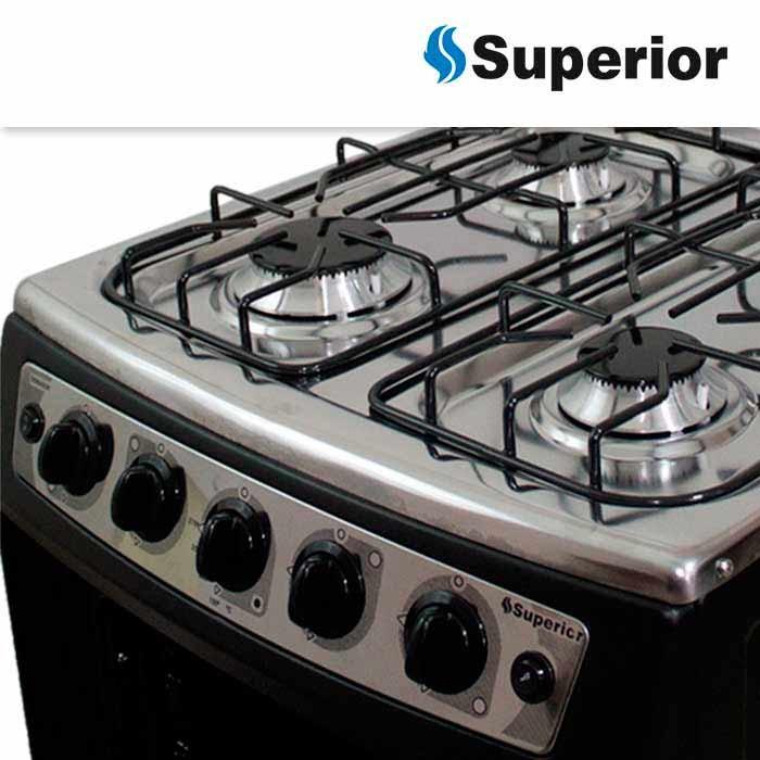 Estufa superior sn titanium gas natural alkosto tienda online - Estufas de gas natural ...