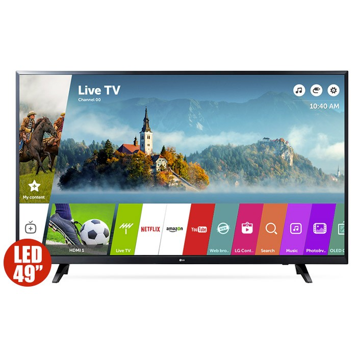 tv 49 123cm lg led 49lj540t fhd internet alkosto tienda online. Black Bedroom Furniture Sets. Home Design Ideas