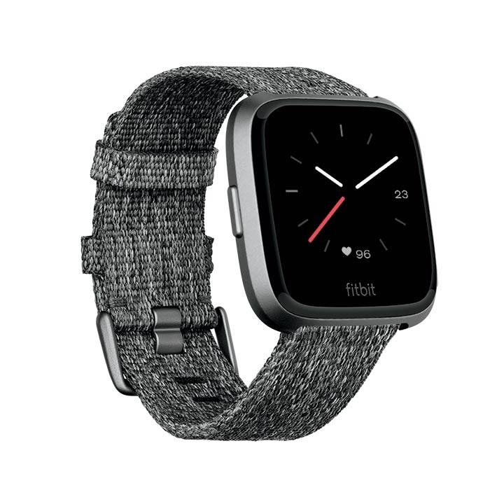 7017ac773b17 Fitbit Versa Smartwatch Gray-Silver Aluminum Alkosto Tienda Online