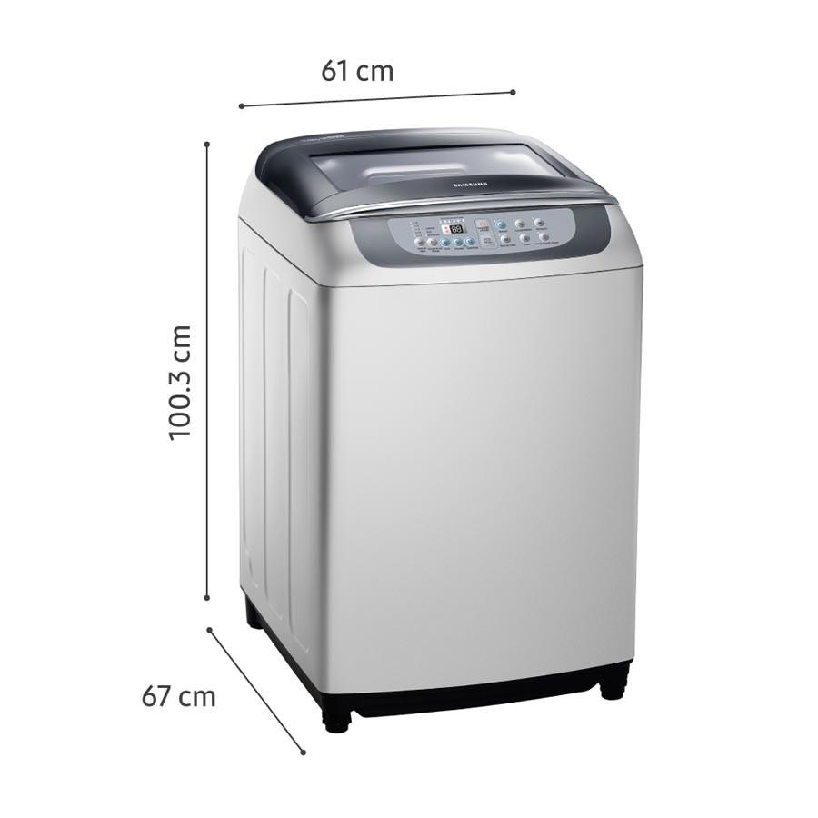 Lavadora samsung 13kg wa13f5l2udy gris alkosto tienda online for Medidas de lavadoras