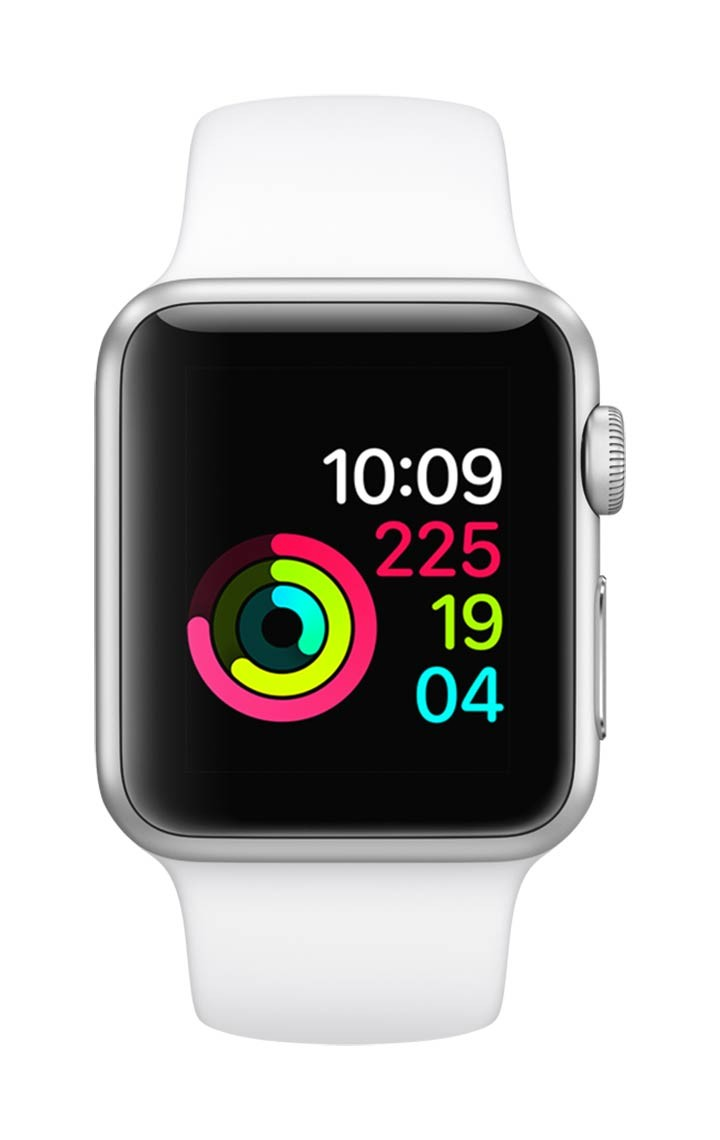 8552fbfcf7d Apple Watch S1 38M Silver / White Alkosto Tienda Online