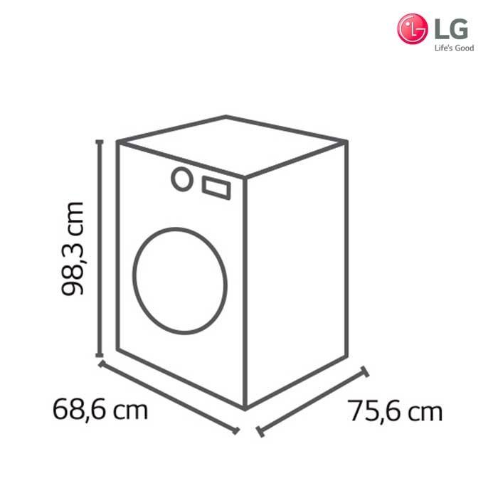 Lavadora secadora lg 18kg wd3250hsa3g alkosto tienda online - Mueble para lavadora y secadora ...