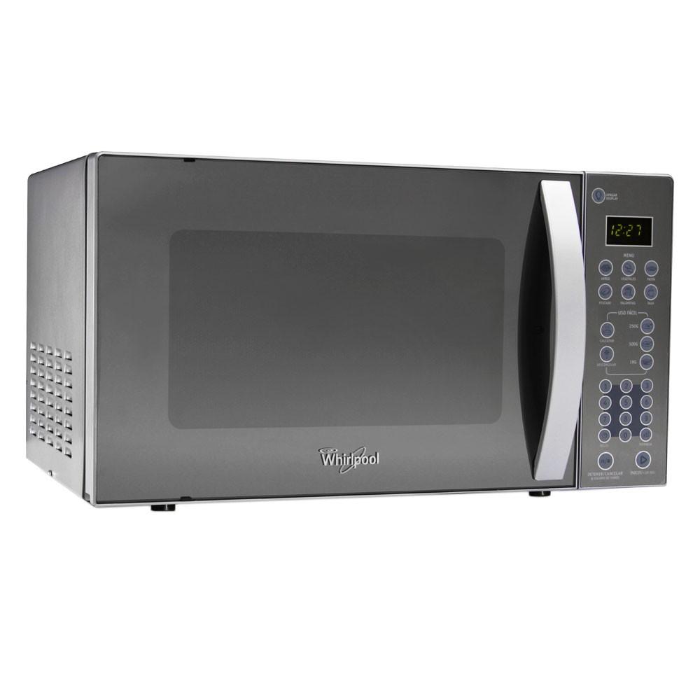 Horno microondas whirlpool wms07zdhs alkosto tienda online for Cocina al microondas