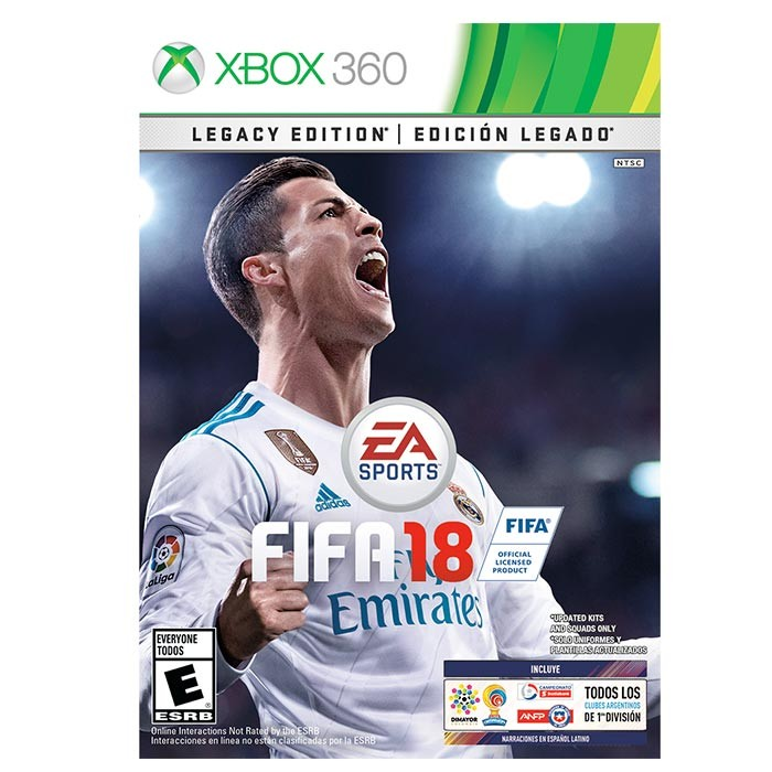 Videojuego Xbox 360 Fifa 18 Edicion Legado Alkosto Tienda Online