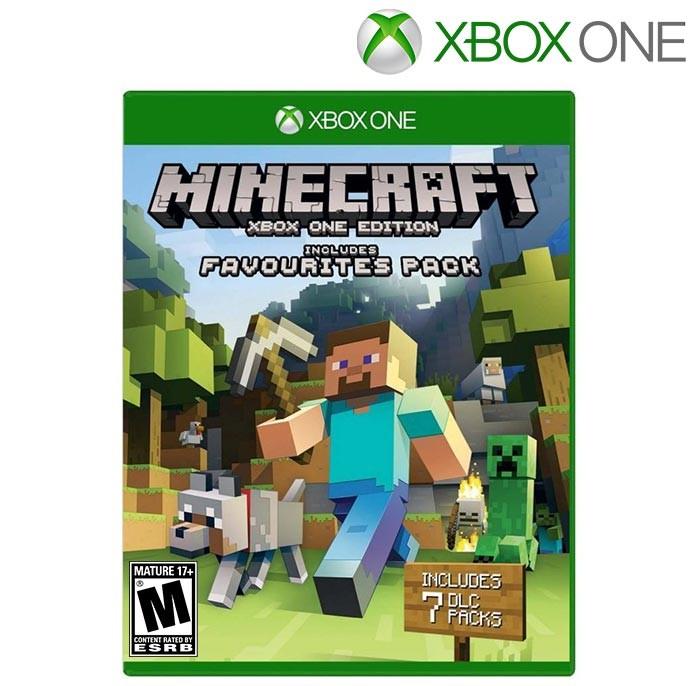 Videojuego XBOX ONE Minecraft paquete de favoritos Alkosto Tienda Online