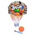 Juego De Basketball 12Cm Con Bola Y Bomba