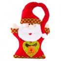 NAVIDAD Colgante para la Puerta Santa Claus de 12 cm