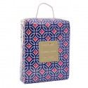 Cubrecama FREE HOME Extradoble Navy-Red