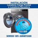 Instalación Lavadora Carga Frontal ó Lavadora/Secadora Eléctrica