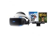Bundle PLAYSTATION VR + Juegos Astro Bot y Moss + Cámara PS4 V2.0