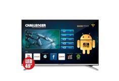 """TV 49"""" 123cm CHALLENGER 49T23T2 4K-UHD Internet"""