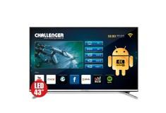 """TV 43"""" 108cm CHALLENGER 43T23T2 4K-UHD Internet"""