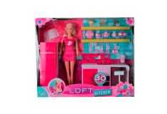 STEFFI LOVE Muñeca Loft Kitchen