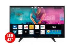 """TV 43"""" 108cm AOC 43S5970 FHD Internet"""