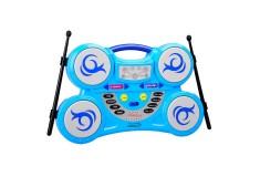 WINFUN Batería eléctrica Azul Beat Bop