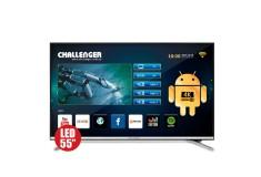 """TV 55"""" 139cm CHALLENGER 55T23T2 4K-UHD Internet"""