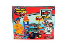 EXPRESS WHEELS Playset Track N Town Parking