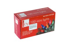 NAVIDAD Set x 100 Luces de Navidad Azules Rojas y Amarillas