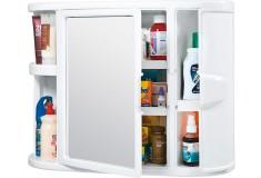 Gabinete RIMAX para Baño Con Espejo Blanco