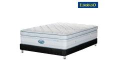 KOMBO ELDORADO: Colchón Coolmax Sencillo + Base cama Negra